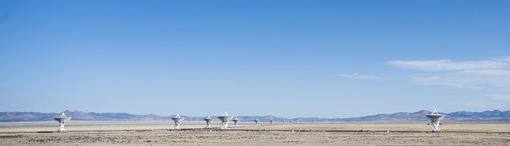 Very Large Array. Image by Light & Noise www.light-noise.com
