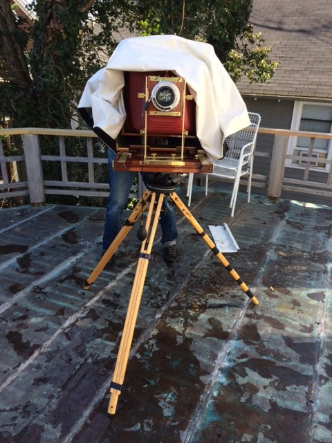 11x14 large format film camera