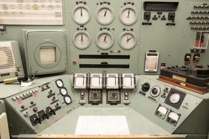 Hanford B Reactor Control Room