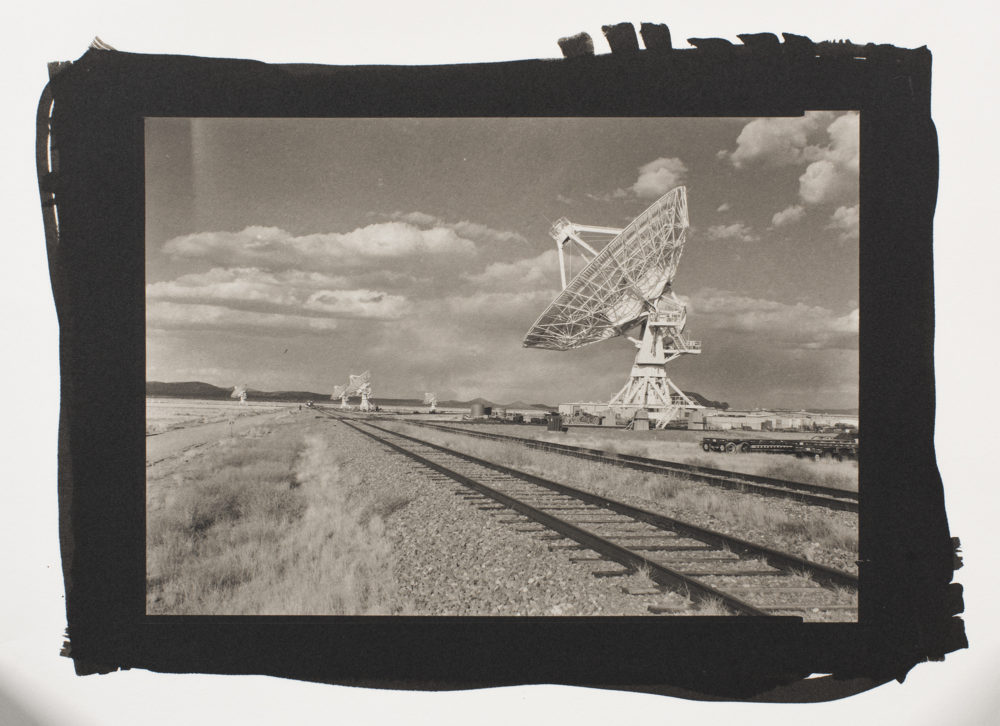 The Very Large Array, printed in platinum/palladium