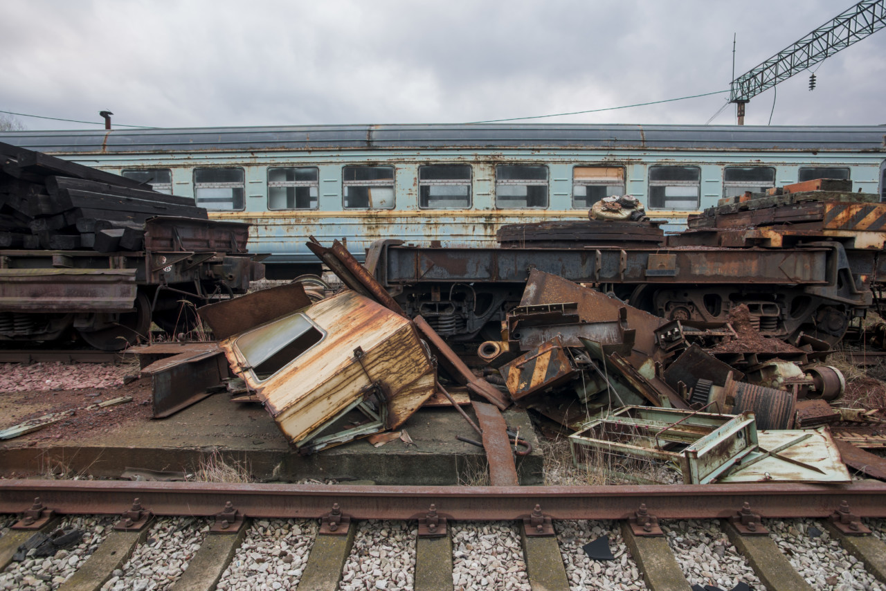 Chernobyl Train Yard