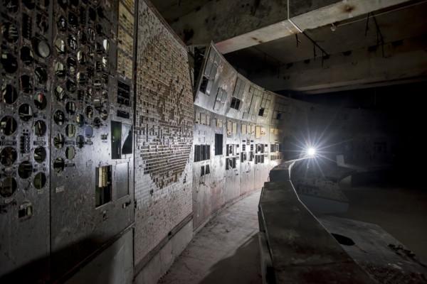 Chernobyl Reactor 4 Control Room